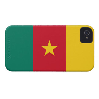 Cameroon Flag iPhone 4 Case-Mate Cases