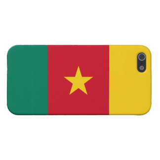 Cameroon Flag iPhone 5/5S Cover