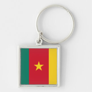 Cameroon Flag Key Ring