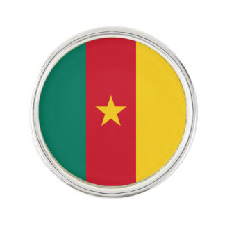 Cameroon Flag Lapel Pin