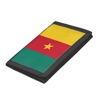 Cameroon Flag Tri-fold Wallet