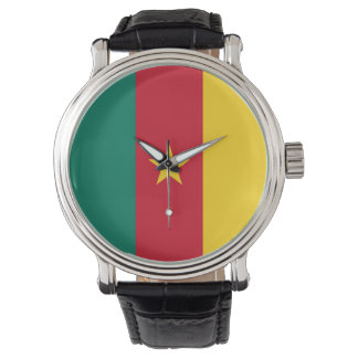 Cameroon Flag Watch