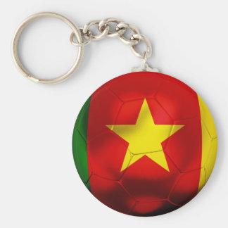 Cameroon Football Key Ring