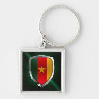 Cameroon Mettalic Emblem Key Ring