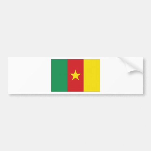 Cameroon National Flag Bumper Stickers