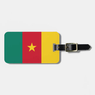 Cameroon National World Flag Luggage Tag