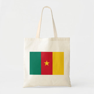 Cameroon National World Flag Tote Bag