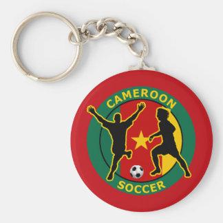 CAMEROON SOCCER KEY RING