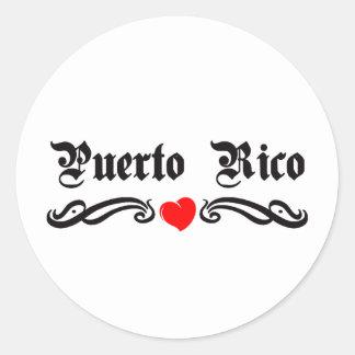 Cameroon Tattoo Style Classic Round Sticker