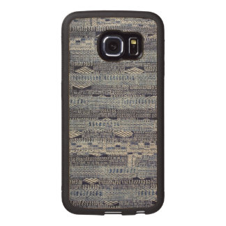 Cameroon Textile Wood Phone Case