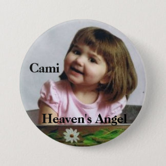 cami_bucket, Cami, Heaven's Angel 7.5 Cm Round Badge