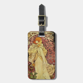 Camilias La Plume or Lady of Camelias Luggage Tag
