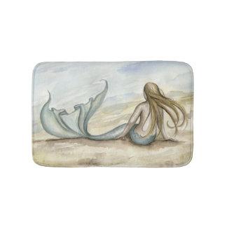 Camille Grimshaw Seaside Mermaid Bath Mat Bath Mats