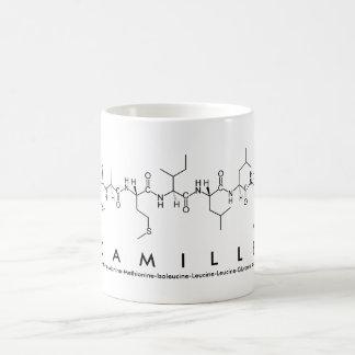 Camille peptide name mug