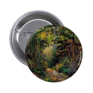 Camille Pissarro- Autumn Path through the Woods Pins