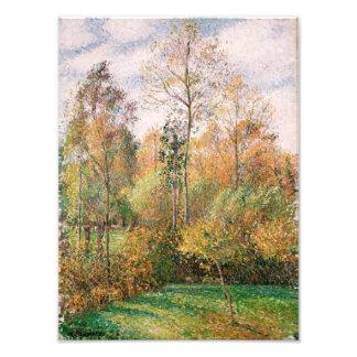 Camille Pissarro - Autumn, Poplars, Eragny Photo Art