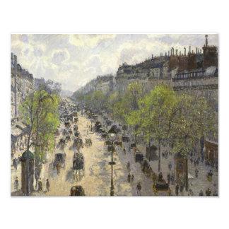 Camille Pissarro - Boulevard Montmartre, Spring Photo