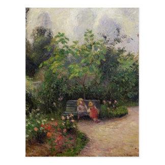 Camille Pissarro | Garden at the Hermitage Postcard