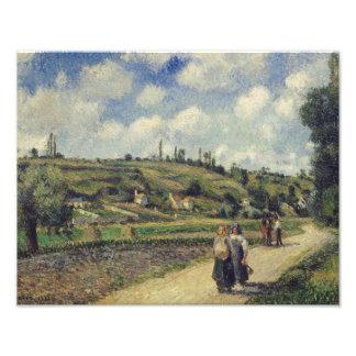 Camille Pissarro - Landscape near Pontoise Photograph