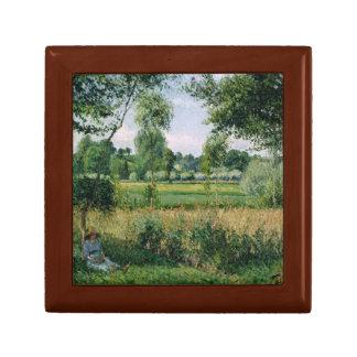 Camille Pissarro - Morning Sunlight Effect, Eragny Small Square Gift Box