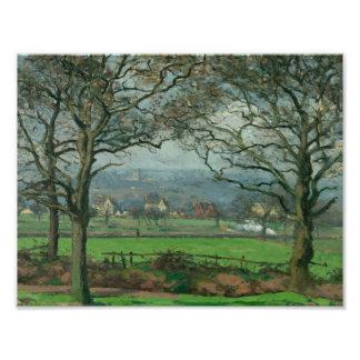 Camille Pissarro - Near Sydenham Hill Photo Art