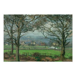 Camille Pissarro - Near Sydenham Hill Photo Print