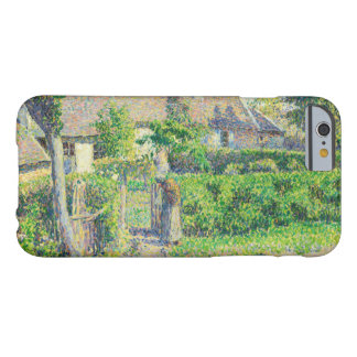 Camille Pissarro - Peasants' houses, Eragny Barely There iPhone 6 Case