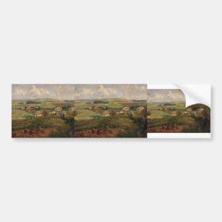 Camille Pissarro- Rainbow, Pontoise Bumper Sticker