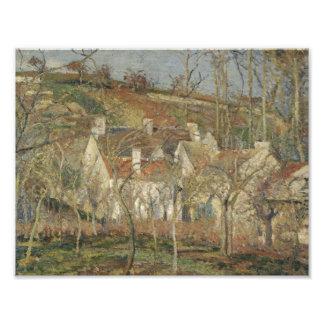 Camille Pissarro - Red Roofs, Corner of a Village Photo