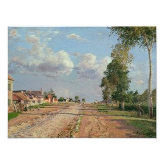 Camille Pissarro - Route de Versailles Photo