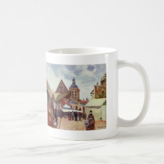 Camille Pissarro- September Fete, Pontoise Coffee Mug