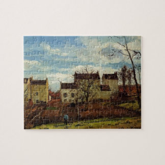 Camille Pissarro- Spring at Pontoise Jigsaw Puzzle