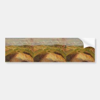 Camille Pissarro- The Dunes at Knocke, Belgium Bumper Sticker