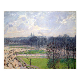 Camille Pissarro The Garden of the Tuileries Photo Print