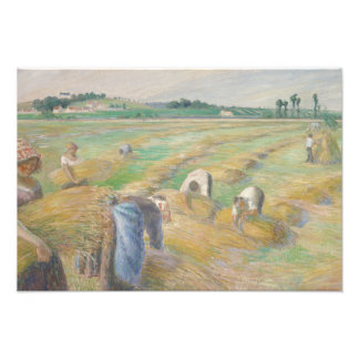 Camille Pissarro - The Harvest Photograph