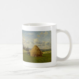 Camille Pissarro- The haystack, Pontoise Coffee Mug