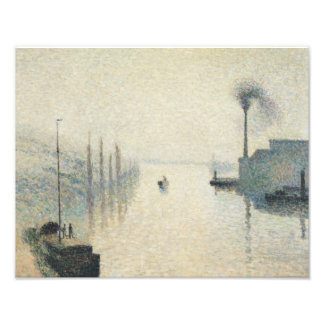 Camille Pissarro - The Island Lacroix, Rouen Photograph
