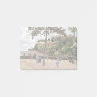 Camille Pissarro The Public Garden at Pontoise Post-it Notes