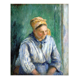 Camille Pissarro Washerwoman, Study Photo Print