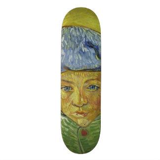 Camille Roulin by Vincent Van Gogh Skate Decks