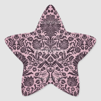 """""""Camille"""" Wall Paper Pink Star Sticker"""