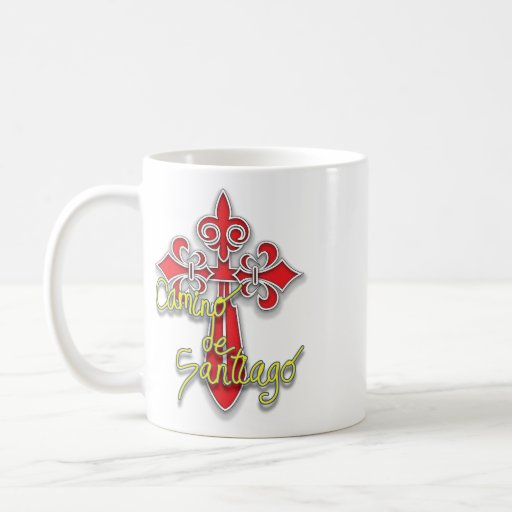 Camino de Santiago Cross Coffee Mug