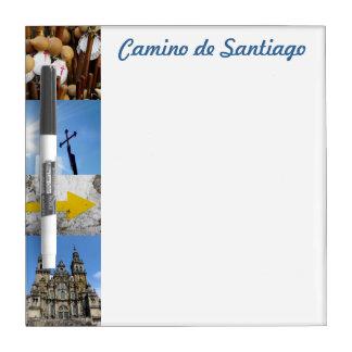 Camino de Santiago Small Whiteboard Dry Erase Boards