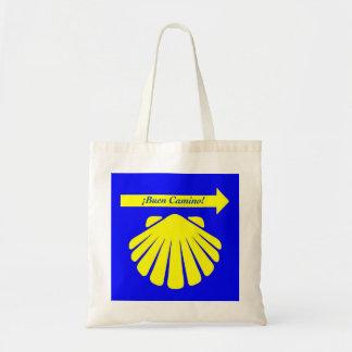 Camino de Santiago Symbols Tote Bag