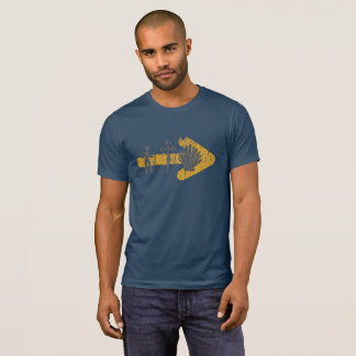 Camino de Santiago T-Shirt (Blue)