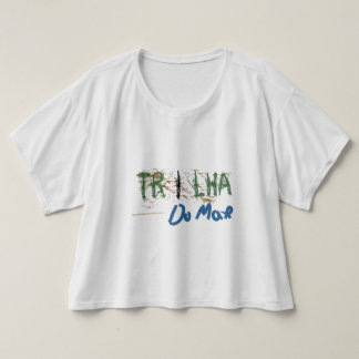 Camisa Branca Feminina manga curta T-Shirt