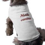 Camisa canina Moda canina Tshirts De Mascota
