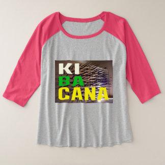 Camisa Plus Size Raglan T-Shirt