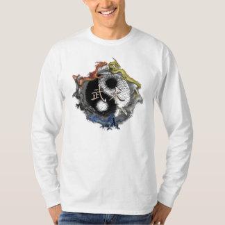 Camiseta 5 dragones wushu T-Shirt