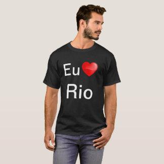 Camiseta Eu amo Rio T-Shirt